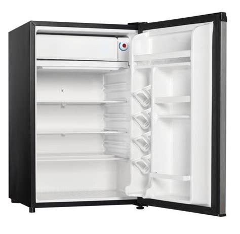 danby designer mini fridge danby designer 4 4 cu ft compact refrigerator walmart ca