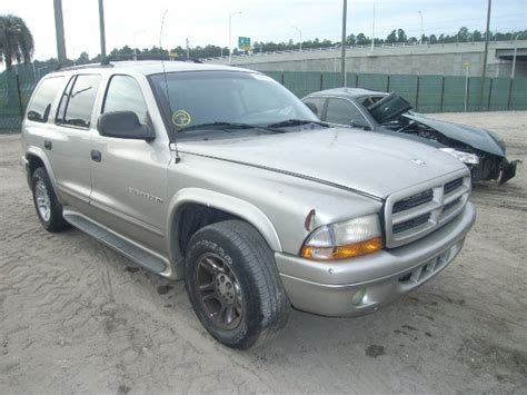 Boat Salvage Yards Jacksonville Florida by 2001 Dodge Durango Suv Donation From Jacksonville Fl
