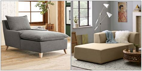 comfortable chaise lounges living room  decorating