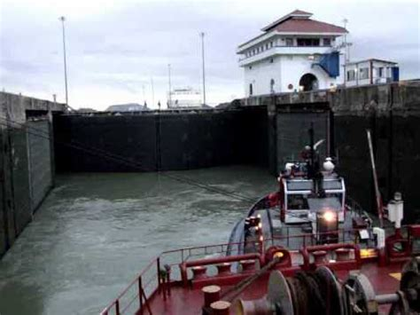 canile chambre panama canal lock chamber flooding パナマ運河 ロックチェンバー浸水