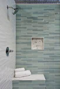 glass subway tile bathroom ideas 25 best ideas about glass tile bathroom on shower niche master shower and master