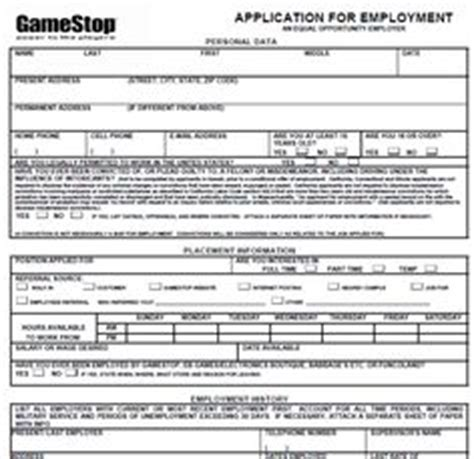 Gamestop Resume Print Out by Pin By Diy Home Decor On Application Forms