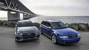 Audi Rs 4 : 2018 audi rs4 avant meets 2001 rs2 avant autoevolution ~ Melissatoandfro.com Idées de Décoration
