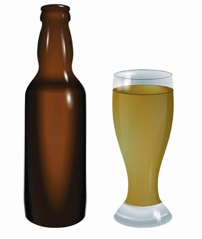 Beer Bottle Clipart Wine Clip Glass Alcohol