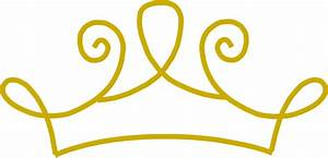 Princess Crown Gold Clip Art at Clker.com - vector clip ...