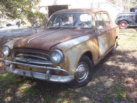 Peugeot 403 For Sale by 1960 Peugeot 403 Barn Find For Sale
