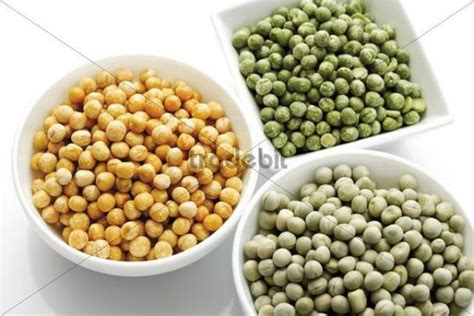 types of peas different types of dried peas in bowls download abstract