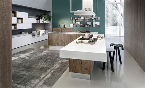 plan cuisine avec ilot central gorgeous kitchen blends sleek minimalism with a chic eco design