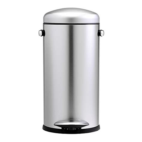 stainless steel accessories for kitchen simplehuman 30 litre retro pedal bin brushed stainless 8226