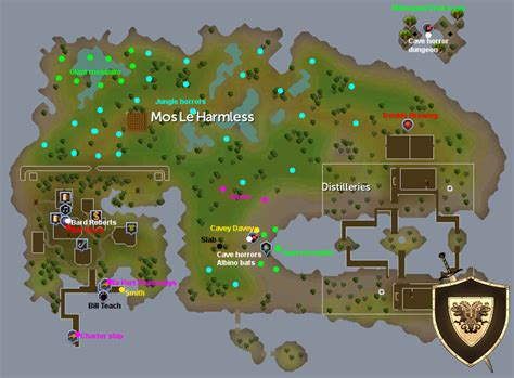 mos leharmless map runescape guide runehq