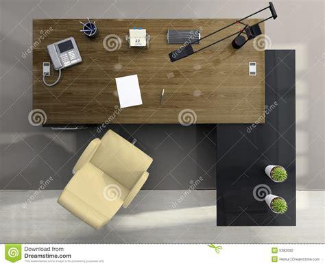 all馥 du bureau vue de ci dessus du bureau photographie stock image 5382092