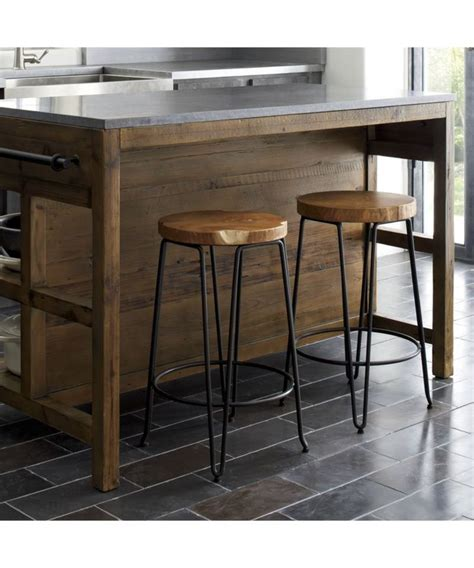 Wooden Island Stools by The 25 Best Backless Bar Stools Ideas On
