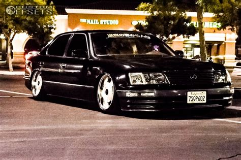 bagged ls400 wheel offset 1995 lexus ls400 tucked bagged