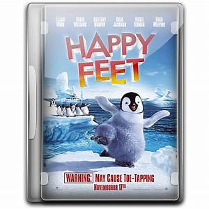 Happy Feet DVD Cover Icon, PNG ClipArt Image | IconBug.com