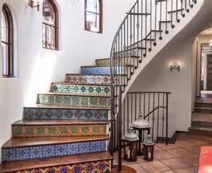 Colorful Kitchen Backsplash Inspired Mexican Tiles Mode Other Metro Mediterranean Kitchen Decorators With Bar Sink Beige