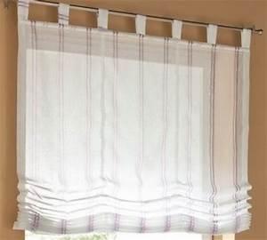 Raffrollo Weiß Transparent : 1 st raffrollo rollo voile 120 x 170 wei streifen ~ Lateststills.com Haus und Dekorationen
