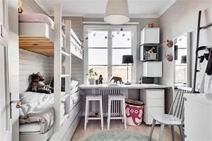 Kleines Kinderzimmer Ideen : kleines kinderzimmer mit hochbett ~ Orissabook.com Haus und Dekorationen