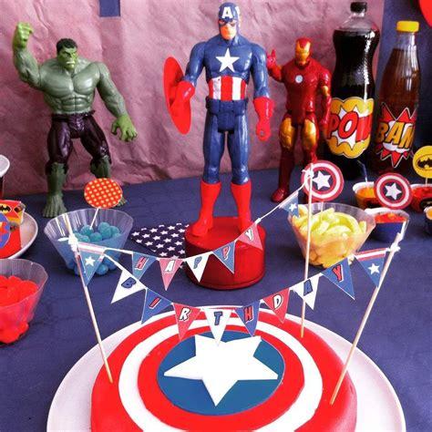 anniversaire de super heros  ans anniversaires