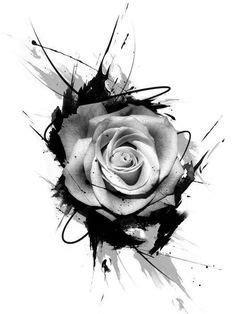 #Simbolos | Tatuajes de rosas, Tatuajes impresionantes