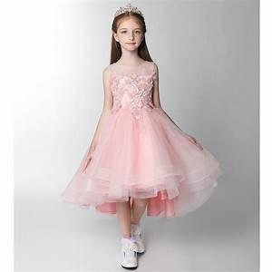 Robe De Demoiselle D Honneur Fille : robe rose de c r monie fille demoiselle d 39 honneur sweet ~ Mglfilm.com Idées de Décoration