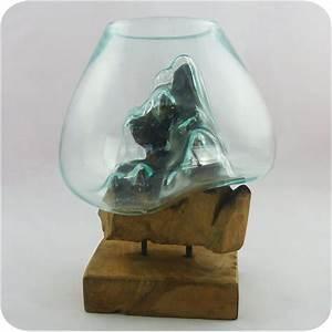 Action Online Shop Deko : wurzelholz glas vase teakholz glasvase wurzel holz wurzelvase deko geschenk g 1 ebay ~ Bigdaddyawards.com Haus und Dekorationen