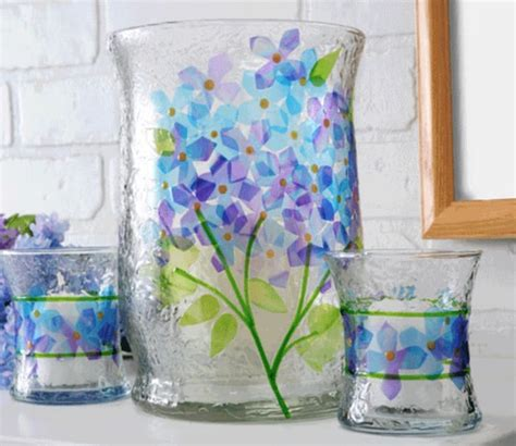 Painting A Glass Vase by 15 Pretty Ways To Decorate A Vase Mod Podge Rocks