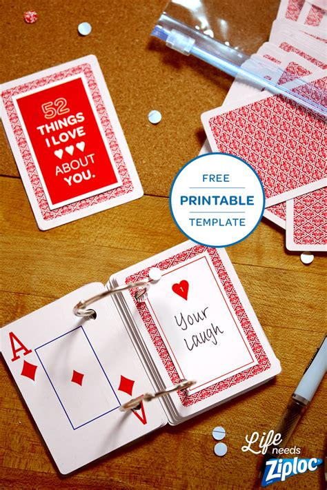 reasons   love  cards templates