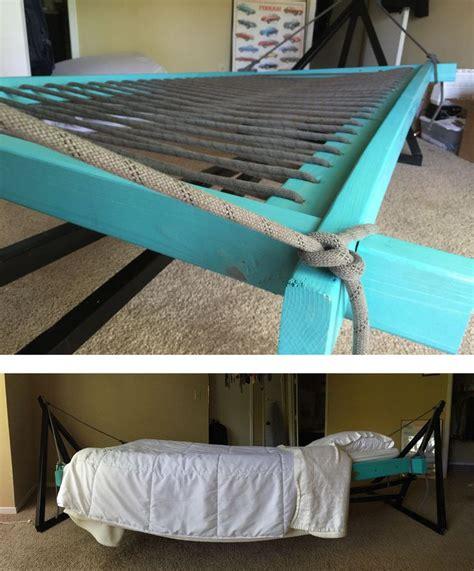 Hammock Instead Of Bed by Best 25 Hammock Bed Ideas On