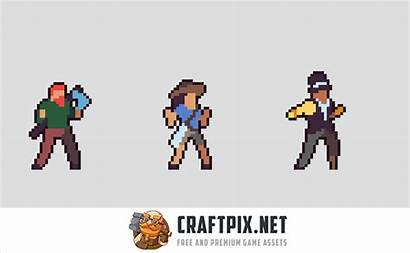 Sprite Character Sheets Pixel Animation Additional Mega