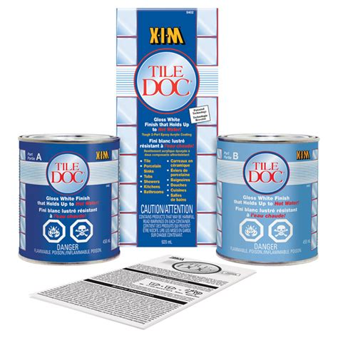 Xim Tile Doc Spray rust oleum xim tile doc tm epoxy tile refinishing kit