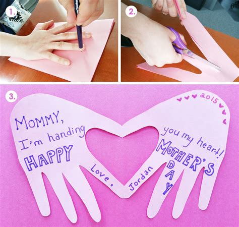 cute  simple mothers day craft  young children