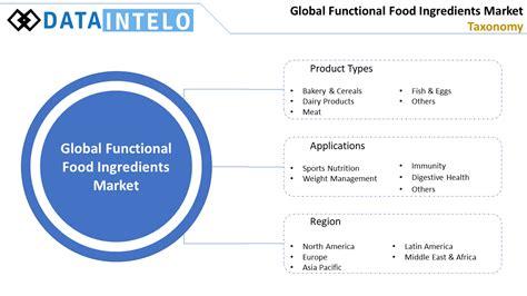 Functional Food Ingredients Market Taxanomy | Dataintelo
