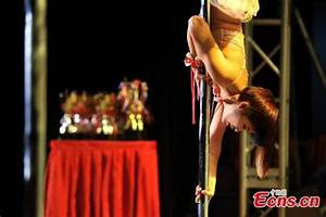World's best pole dancers compete in Beijing - Lifestyle ...