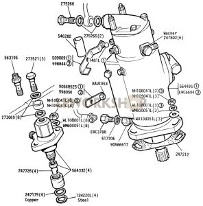 Diesel Fuel Injection Diagrams Find Land Rover Parts