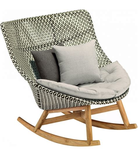 chaise en rotin but mbrace dedon rocking chair milia shop