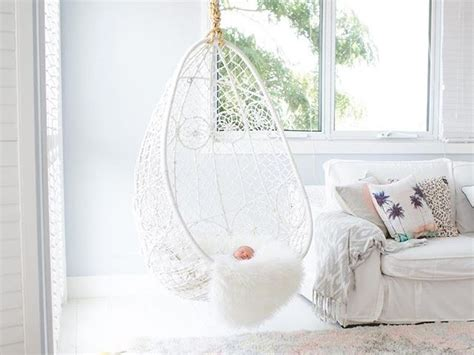 indoor hanging chairs