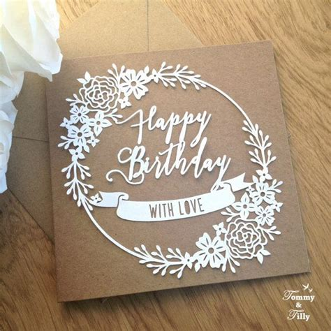 free birthday card template cricut pin on craft ideas and more