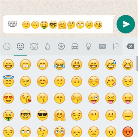 new emoji update for android whatsapp 2 12 374 for android adds plenty of new