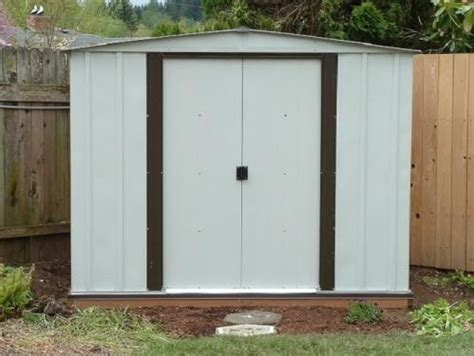 Arrow Newburgh 8x6 Storage Shed by Newport 8 Ft X 6 Ft Steel Shed