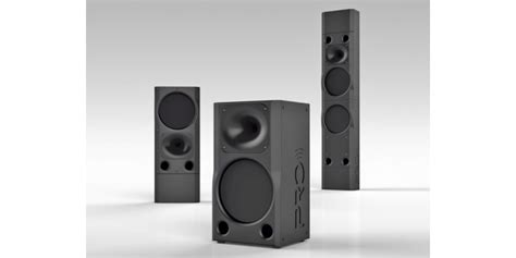 Pro Audio Technology New S and SR Series Speakers BIG on ...