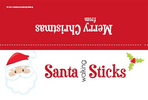 christmas party favor bag toppers  sale santa sticks