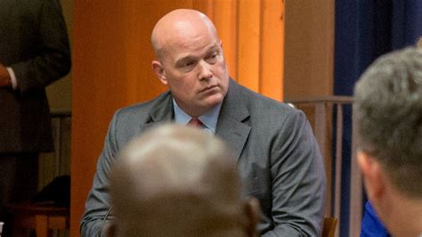 matthew whitaker  mueller critic named acting attorney