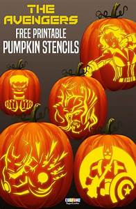 Nearly, 100, Of, The, Coolest, Free, Geeky, Pumpkin, Carving, Templates, For, Halloween