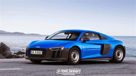 2016 Audi R8 Imagined As Budget Supercar With Steel Wheels
