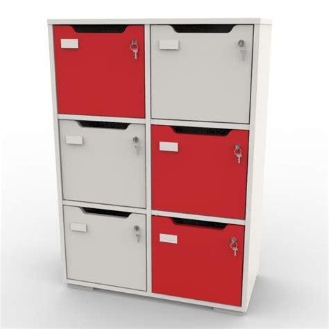 casiers de rangement bureau meuble de rangement vestiaire bois design meuble casier de