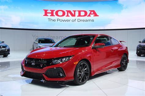 honda civic 2016 si 2017 honda civic si debuts at 2016 l a auto show
