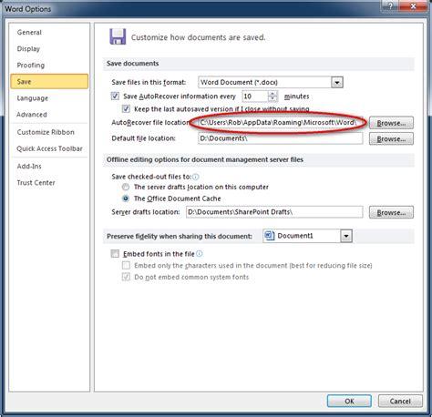 top  ways  recover  document  microsoft word crash