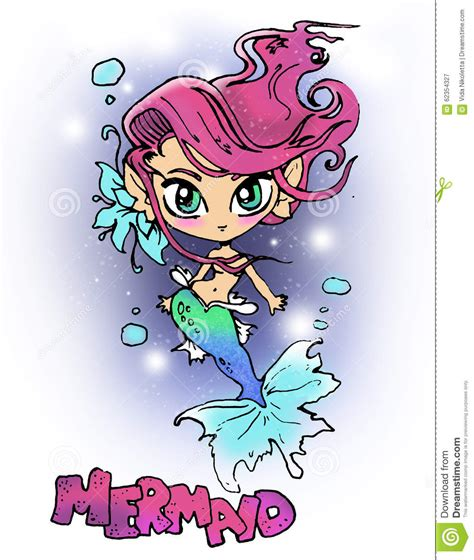 Pink Hair Cartoon