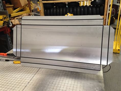 groove dibond   panel   trax manufacturing