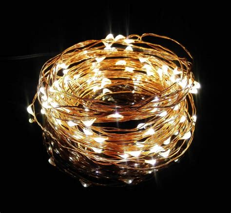 50xwholesale ultra thin invisible copper wire led